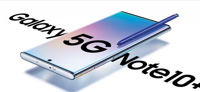 Samsung lansează, în România, Galaxy Note10+ 5G