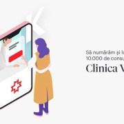 Rețeaua de sănătate REGINA MARIA, peste 10.000 de consultații online!
