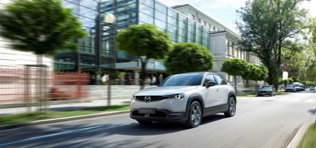 Primul model electric de serie Mazda, MX-30 se vinde și în România!