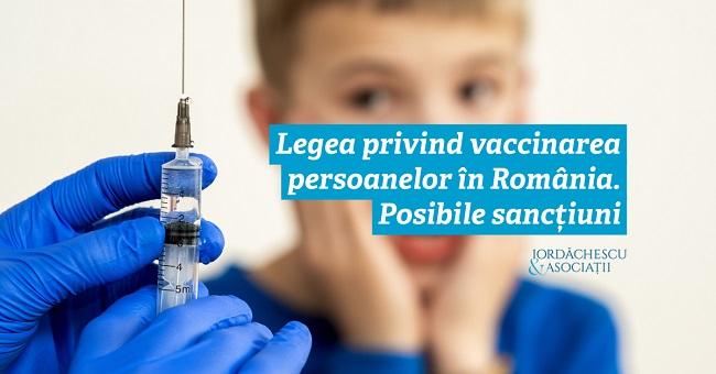 Legea privind vaccinarea persoanelor în România. Posibile sancțiuni!