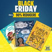 Black Friday: Reduceri de până la 90% la cărțile Editurii DPH
