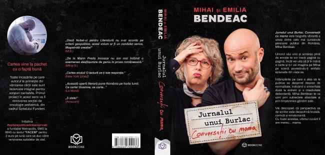 Un nou record pentru Mihai Bendeac și editura Bookzone! O donatie de 200.000 de Euro pentru spitalul Fundeni!