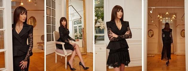 "Denise Rifai, seducatoare in tinute ""all black""!"