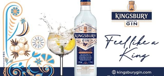 Alexandrion Group a lansat KINGSBURY LONDON DRY GIN!