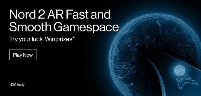 """OnePlus Nord 2 5G poate fi câștigat de fani prin concursul """"Fast and Smooth"""" bazat pe realitatea augmentată"""