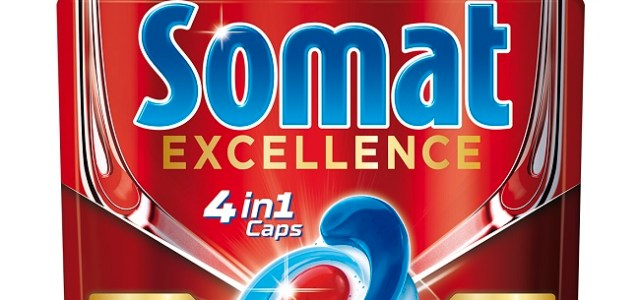 Somat Excellence 4în1, noua formulă revoluționară pentru vase curate și strălucitoare