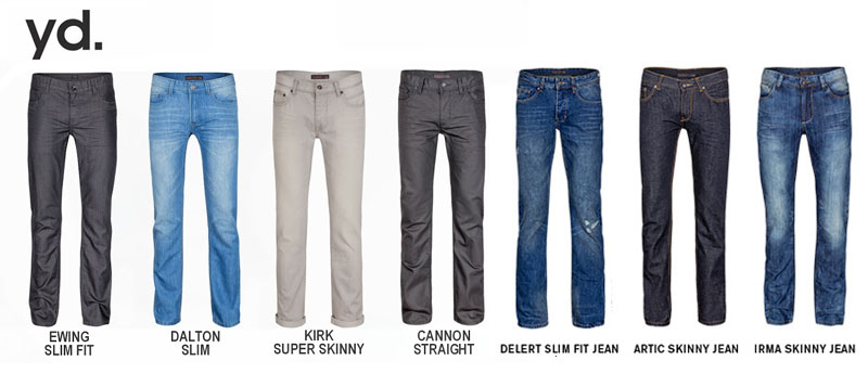 Menswear Denim Trends I Jeans‏