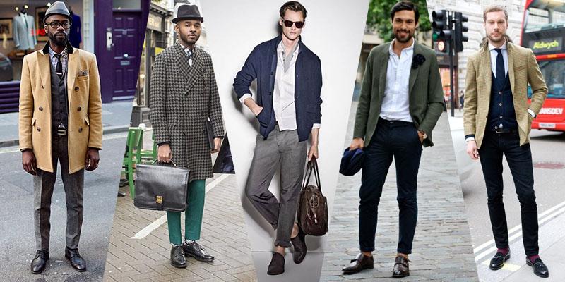 street style black dress shoes men