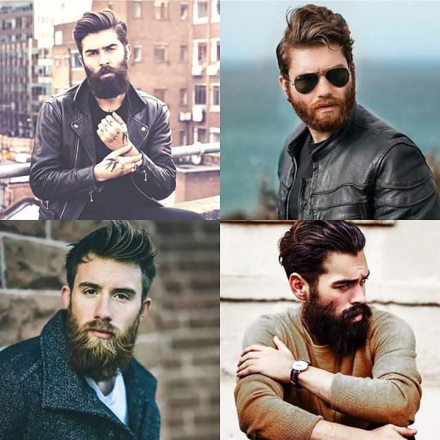 Medium Hair & Beards 1