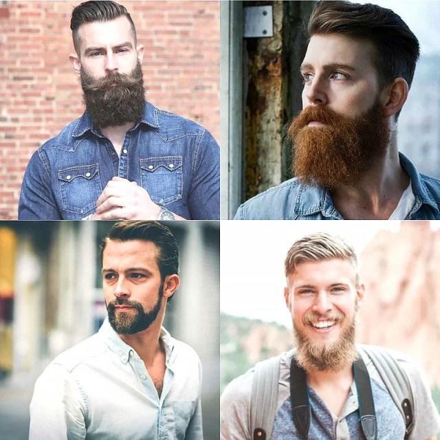 Short Hair & Beards