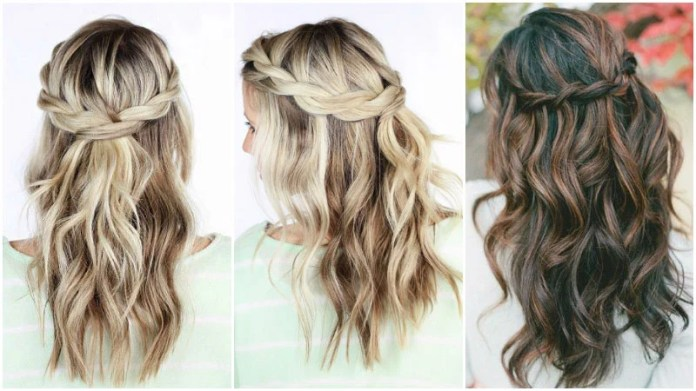 10 Cute And Easy Hairstyles For Long Hair The Trend Spotter