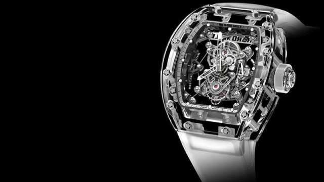 Richard-Mille-RM-56-02-Sapphire-Tourbillon These are the World's Most Expensive Watches