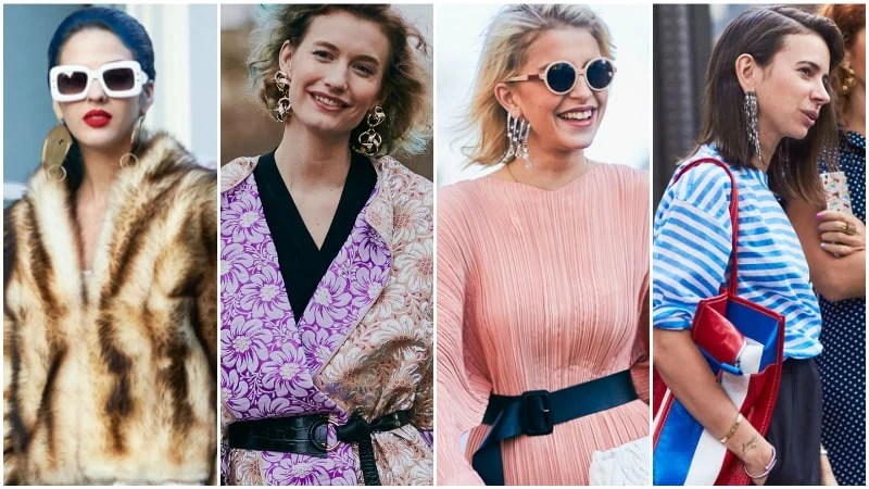 Statement Earrings 80s Fashion Trend