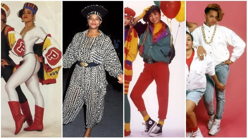 80s Hip Hop Fashion