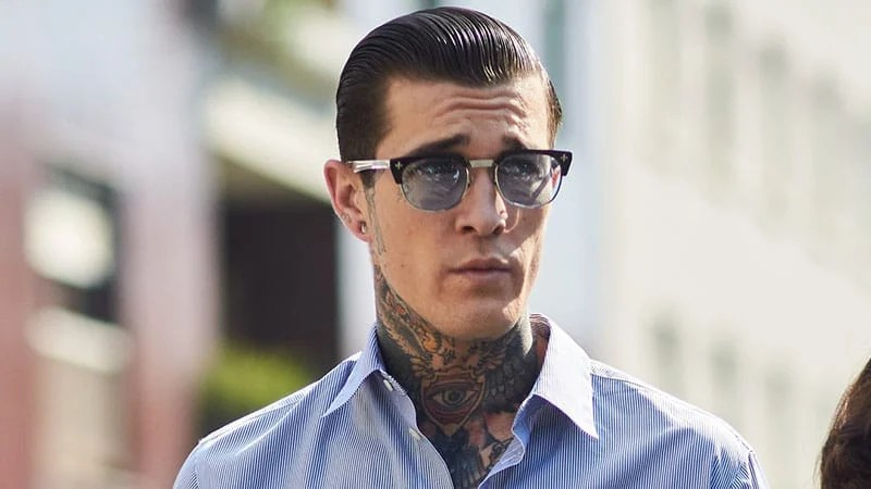 20 Best Slicked Back Hairstyles For Men The Trend Spotter