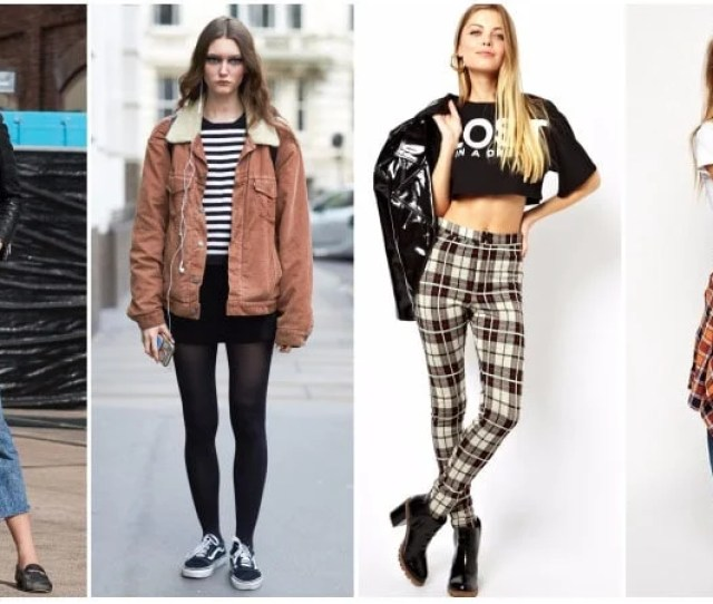 Effortlessly Cool Grunge Outfits You Need To Try The Trend Spotter