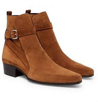 Suede Jodhpur Boots