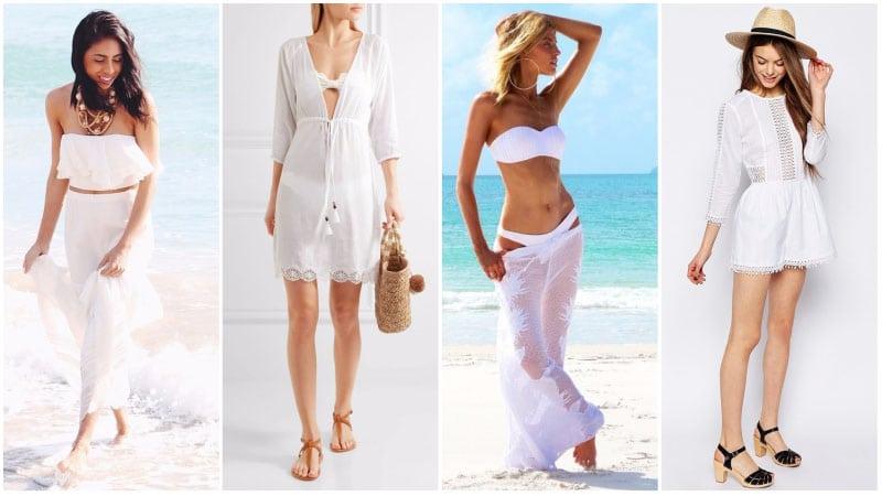 All-White Beach Outfits
