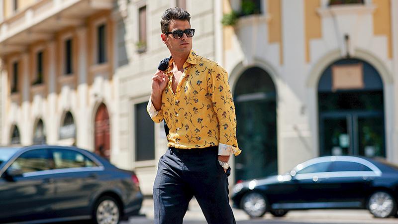 Moda Męska Wiosna Lato 2019 koszule