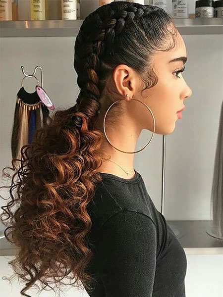 30 Sexy Goddess Braids Hairstyles You Will Love The