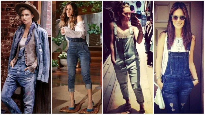 Denim Overalls Outfits