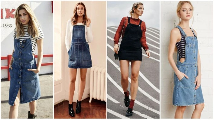 Overall Dress Outfits