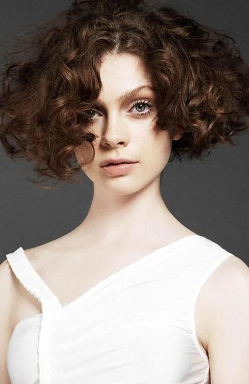 Blunt Curly Wavy Hair