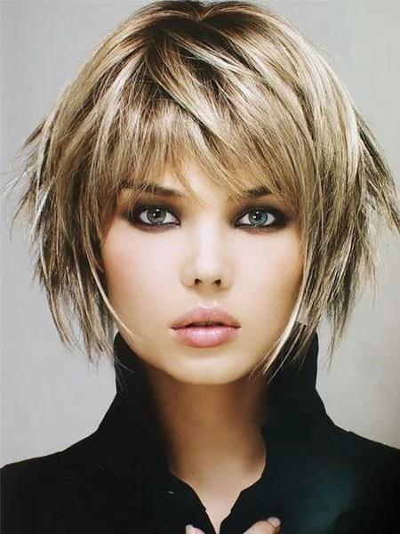 Short Layered Haircut For Fine Hair