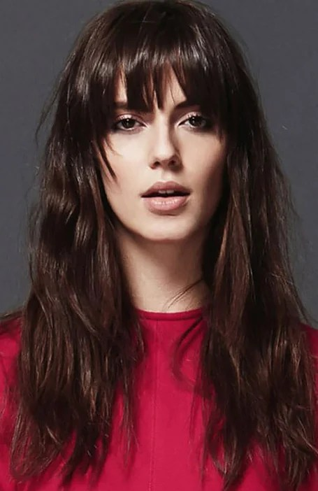 25 Gorgeous Long Hair With Bangs Hairstyles The Trend