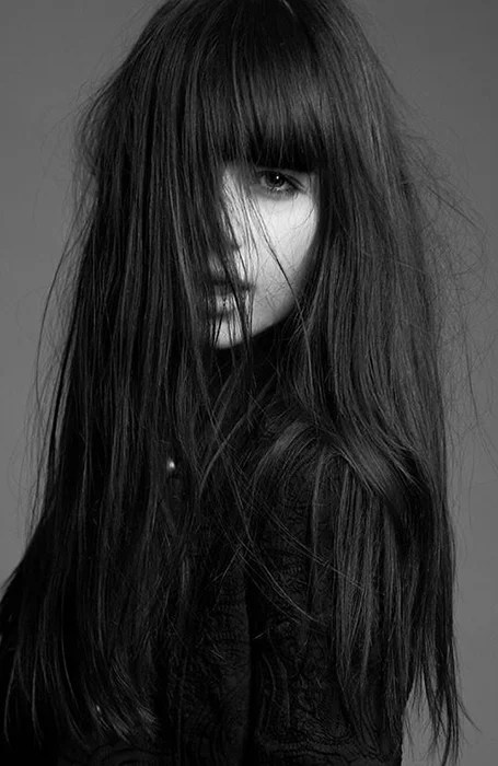 Thick Bangs For Long Hair