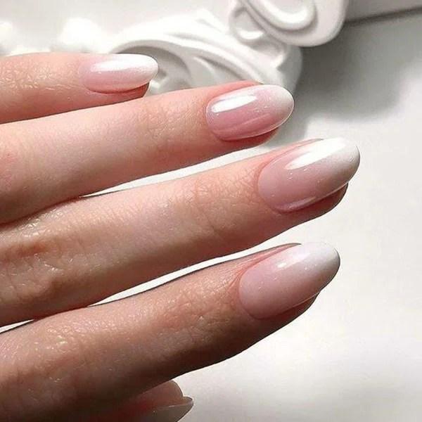 Natural Ombre Nails