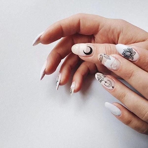 Transparent Nail Design