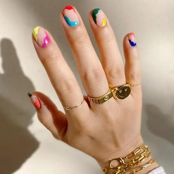Colorful Nail Art