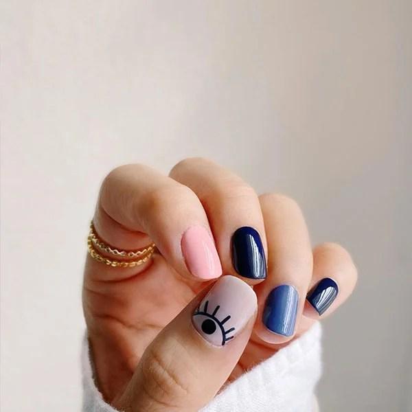 Playful Nail Art Design