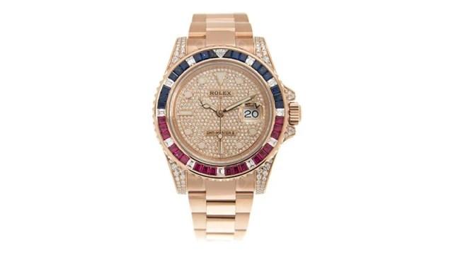 Gmt Master Ii Automatic Diamond Men's Watch