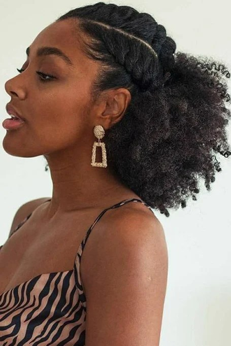 Gorgeous Hairstyle For Black Hair