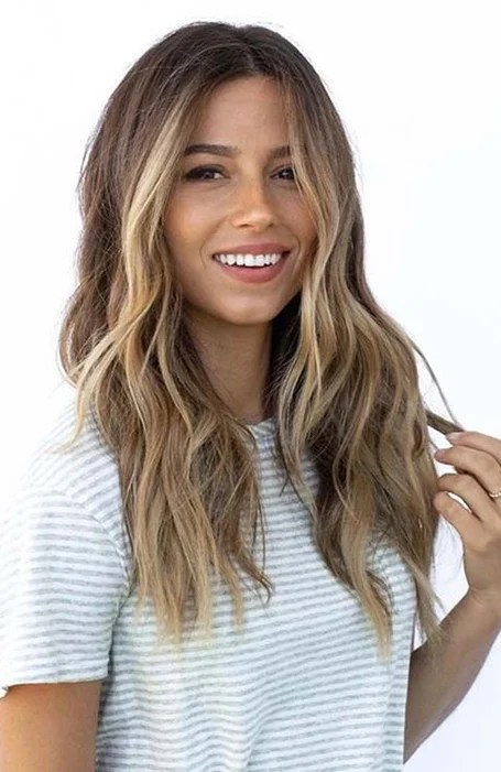 Long Layered Ombre Hair