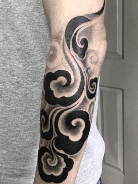 Japanese Cloud Tattoo