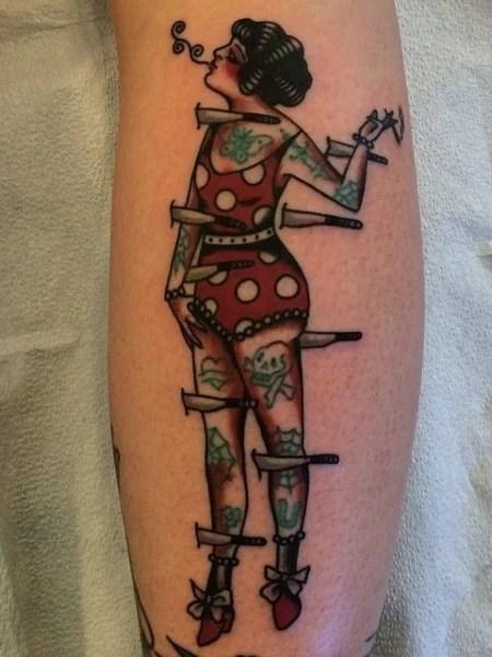 Traditional Circus Tattoo