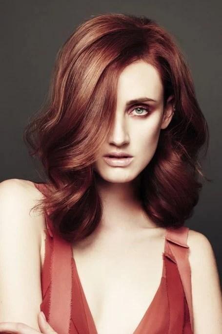 Burgundy Hair With Blonde Highlights