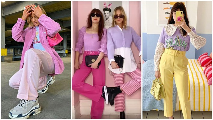 Pastel Colours All Over