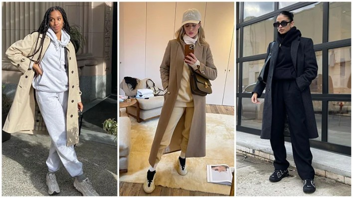 Tracksuit With Structured Coats