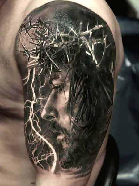 Jesus 3d Tattoo