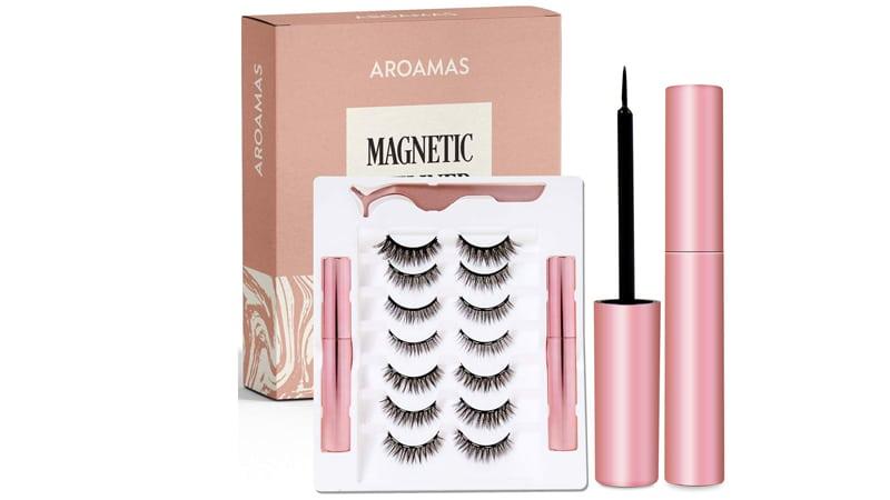 Aroamas Magnetic Eyeliner And Magnetic Eyelash Kit