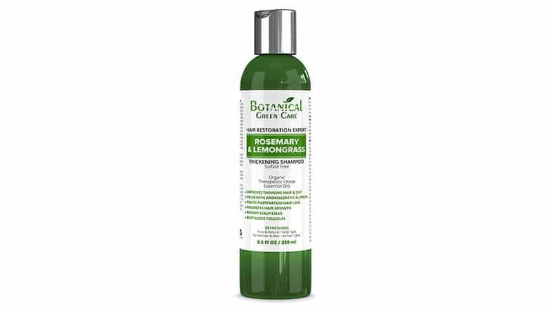 Botanical Green Care Hair Growth Anti Hair Loss Sulfate Free Shampoo