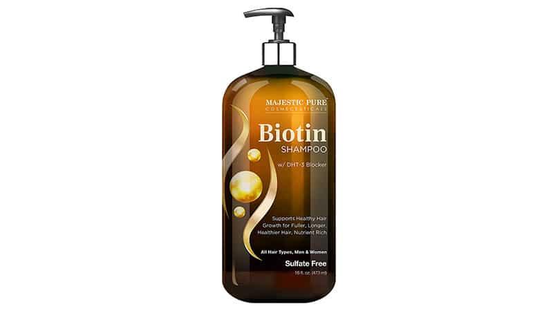 Majestic Pure Biotin Shampoo For Hair Growth