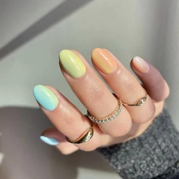 Pretty Pastel Ombre Pretty Nails Amyytran