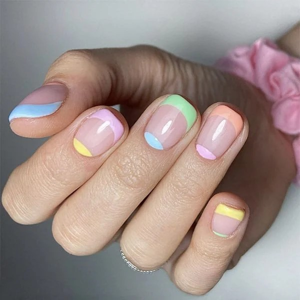 Pretty Pastels Nail Ideas By Shelley
