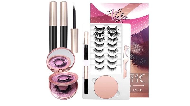 Vafee Magnetic Eyelashes With Eyeliner