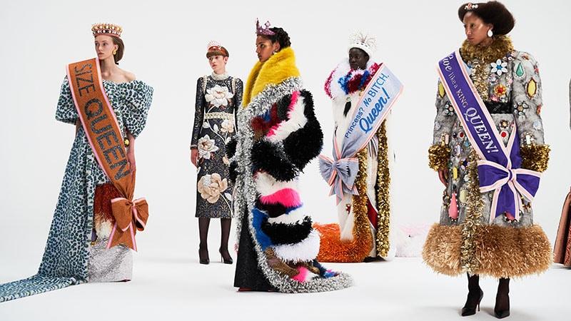 Haute Couture Returns In Full Swing